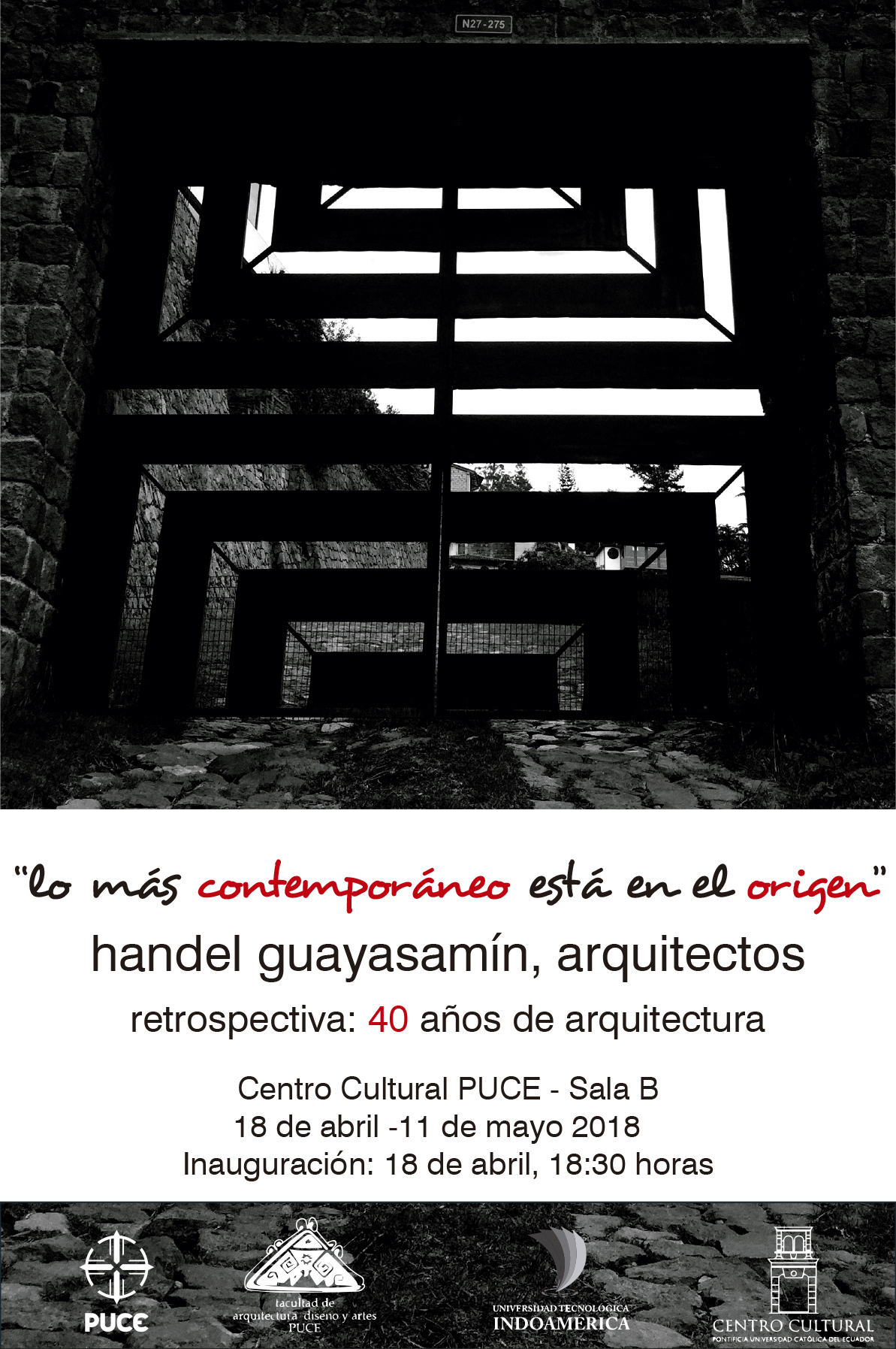 Invitacion EXPO PUCE 40 180406